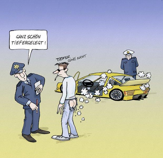Polizeicartoons - PolizeiDeinPartner.de