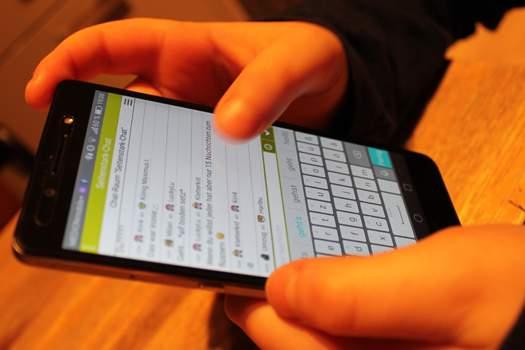 Erwachsenen-Chat-Netz